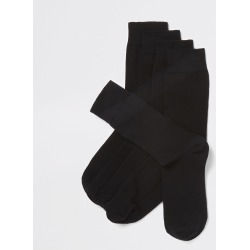 Mens River Island Black socks 5 pack