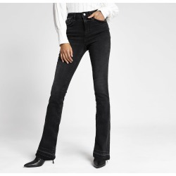 River Island Womens Black bootcut jeans found on MODAPINS from River Island - UK for USD $52.60
