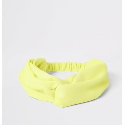 Womens Yellow twist front headband found on MODAPINS from River Island - UK for USD $10.17