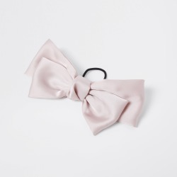 River Island Womens Pink satin bow hair clip found on MODAPINS from River Island - UK for USD $14.11