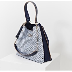 River Island Womens Blue 'River' gold chain slouch bag found on Bargain Bro Philippines from RIver Island US for $74.00