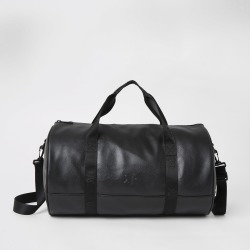 Mens River Island Black RVR tape holdall found on Bargain Bro UK from River Island - UK