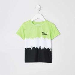 River Island Mini boys Green faded T-shirt found on Bargain Bro UK from River Island - UK