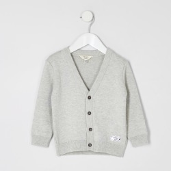 River Island Mini boys Grey knitted cardigan found on Bargain Bro UK from River Island - UK