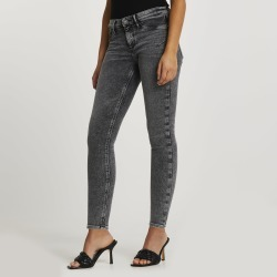 River Island Womens Grey low rise bum sculpt jeggings found on MODAPINS from River Island - UK for USD $64.89