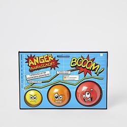 River Island Mens Anger stress ball 3 pack