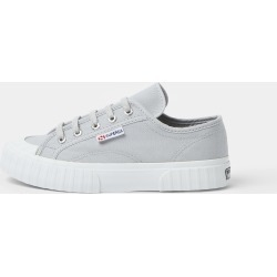 River Island Womens Superga Grey rubber toe canvas trainers found on MODAPINS from River Island - UK for USD $84.61