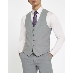 River Island Mens Grey smart waistcoat found on MODAPINS from RIver Island US for USD $70.00