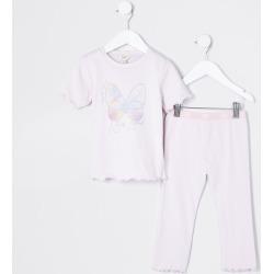 River Island Mini girls Purple butterfly pyjamas found on Bargain Bro UK from River Island - UK