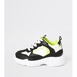 River Island Mini boys black neon chunky trainers found on Bargain Bro India from RIver Island US for $44.00
