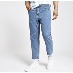 Mens Only & Sons Blue tapered jeans found on MODAPINS from River Island - UK for USD $56.98