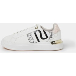 River Island Womens White wide fit RI lace up trainers found on MODAPINS from River Island - UK for USD $56.40