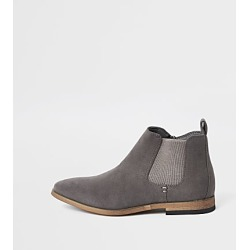 River Island Boys grey Chelsea boots found on Bargain Bro India from RIver Island US for $44.00