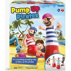 TOMY Pump Up Pirate game