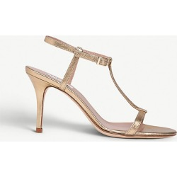 North T-bar metallic leather heeled sandals found on Bargain Bro India from Selfridges US for $88.00
