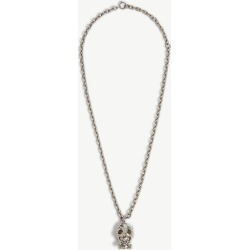 Arrow skull-embellished brass pendant necklace found on Bargain Bro Philippines from Selfridges US for $440.00