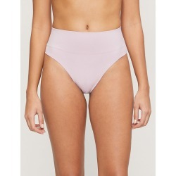 Semi-sheer high-rise stretch-jersey thong found on Bargain Bro India from Selfridges US for $19.50