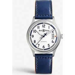 BRV192-BB-ST/SCA Vintage V1-92 Racing Bird stainless steel and leather watch found on Bargain Bro India from Selfridges US for $2125.00