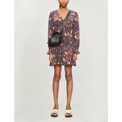 Coriander floral-print silk mini dress found on Bargain Bro India from Selfridges US for $255.00