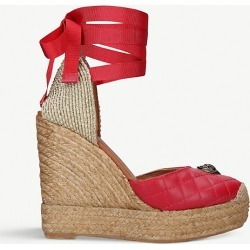 Karmen ankle-tie leather espadrille wedge sandals found on Bargain Bro India from Selfridges US for $68.00