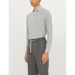 Checked tailored-fit cotton-twill shirt found on Bargain Bro Philippines from Selfridges US for $54.00