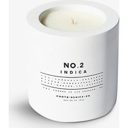 No. 2 Indica concrete candle 8oz