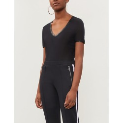 Tino foil-trim jersey T-shirt found on Bargain Bro India from Selfridges US for $126.00