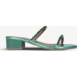 Priya jewel-embellished leather sandals found on Bargain Bro India from Selfridges US for $45.00