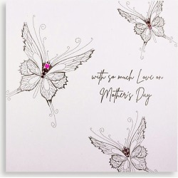 With So Much Love On Mother's Day Mother's Day card 16cm x 16cm