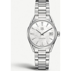 WAR1311. BA0778 Carrera stainless steel and mother-of-pearl watch