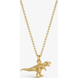 Alex Monroe Teeny Tiny T.Rex 18ct yellow-gold necklace found on MODAPINS from Selfridges US for USD $525.00