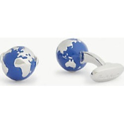 Globe enamel cufflinks found on MODAPINS from Selfridges US for USD $112.00