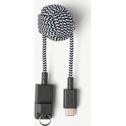 Key USB A to USB C cable zebra