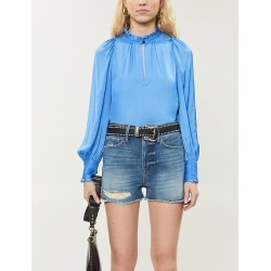 Titu high-neck woven blouse found on Bargain Bro India from Selfridges US for $305.00