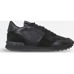 Camouflage-print leather trainers found on Bargain Bro India from Selfridges US for $635.00