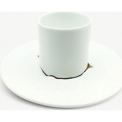 Terra cup and saucer set