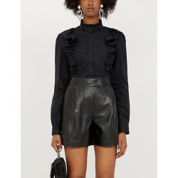 Mirto ruffled cotton-blend shirt found on Bargain Bro India from Selfridges US for $195.00