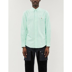 Striped regular-fit cotton shirt found on Bargain Bro Philippines from Selfridges US for $31.50