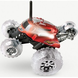 Remote control monster spinning car
