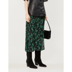 Floral-print chiffon midi skirt found on Bargain Bro Philippines from Selfridges US for $27.00