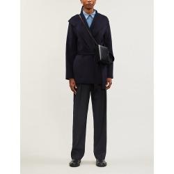Lima slim-fit wool-blend coat