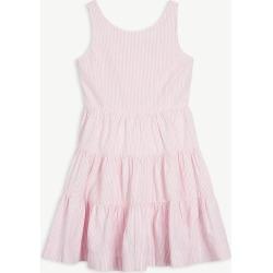 Stripe-print cotton dress 7 - 16 years