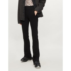 The Milan flared high-rise cotton-jersey jogging bottoms found on Bargain Bro India from Selfridges US for $315.00