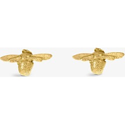 Alex Monroe Teeny Tiny Bumblebee 18ct gold earrings found on MODAPINS from Selfridges US for USD $415.00