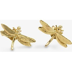 Alex Monroe Teeny Tiny Dragonfly 18ct gold stud earrings found on MODAPINS from Selfridges US for USD $500.00