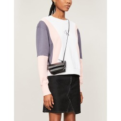 Colour-blocked cotton-jersey sweatshirt found on Bargain Bro India from Selfridges US for $90.00