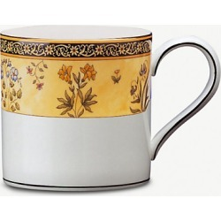 India patterned china mug 8cm