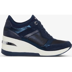 Elias logo-embossed wedge-heel woven trainers found on Bargain Bro India from Selfridges US for $109.00