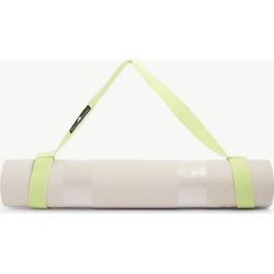 Logo-embossed yoga mat