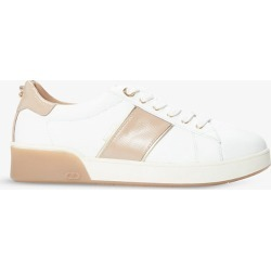 Eden crocodile-embossed low-top faux-leather trainers found on Bargain Bro India from Selfridges US for $88.00